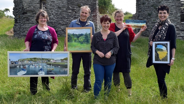 art festival Newcastle Emlyn