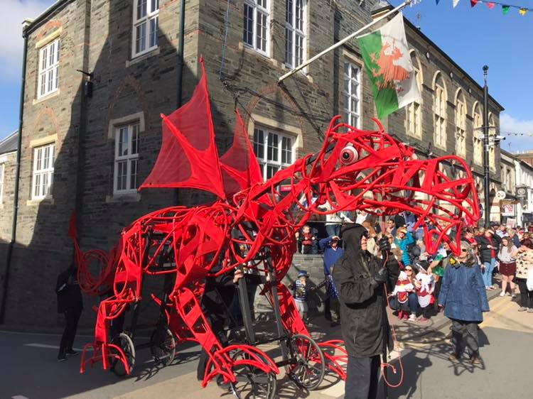St David's Day Welsh Dragon