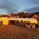 Tresaith beach party