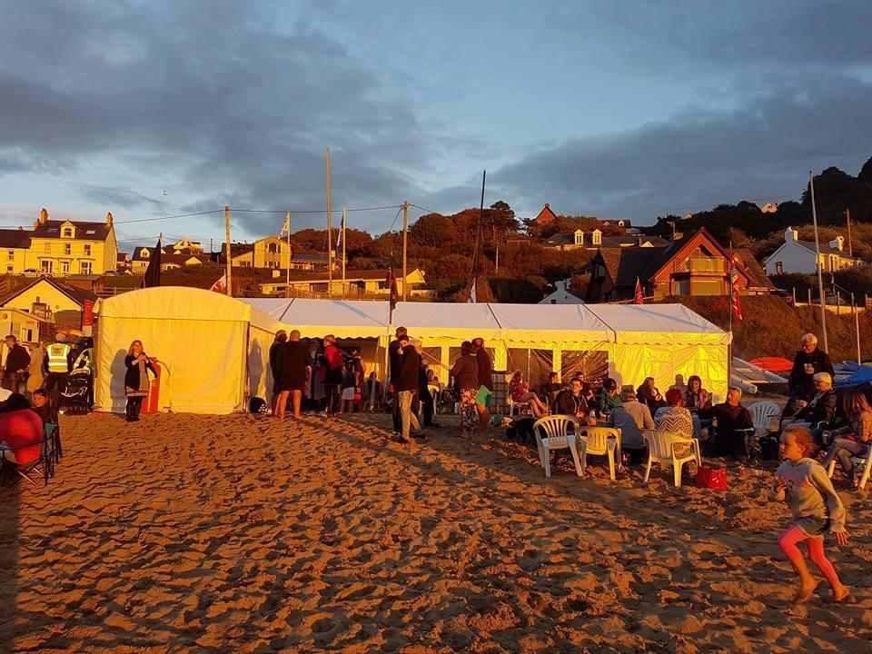 Tresaith beach party